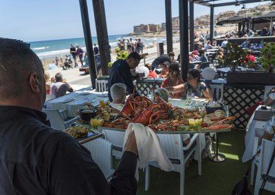 Parrillada Marisco Terraza Vela Beach Torrevieja