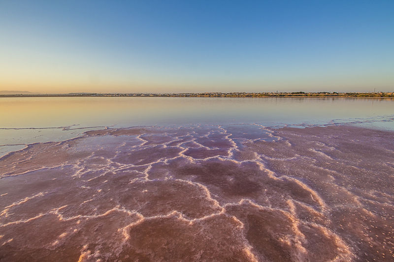 Playa de La Mata. Lagunas de Torrevieja
