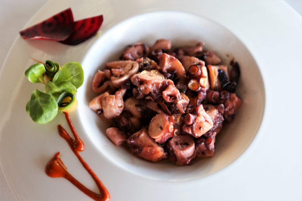 Pulpo Horno receta Barlovento Vela Beach Torrevieja